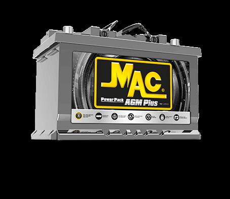 Batería MAC AGM Plus